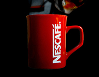Nescafe Print Advertising Campaign