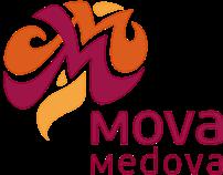 MovaMedova simplepage site design