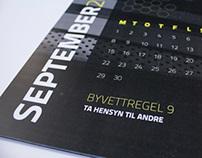 Calendar - Natteravnene/the Night Ravens