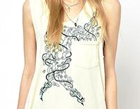 Drawings on shirts