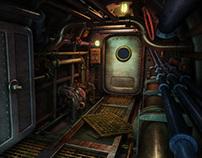 Steampunk submarine U-144