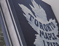 Toronto Maple Leafs 2014 Winter Classic Jersey Box