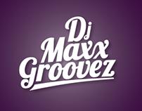 DJ Maxx Groovez - Logo/Branding