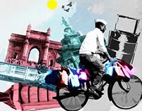 The city that never sleeps- MUMBAI - Illustration