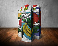 Life juice package redesign