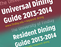 2013 Dining Guide Brochures