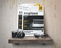 Kingtown Magazine Template