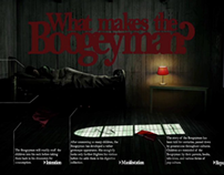 Interactive Boogeyman Infographic