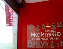 imagen coorporativa Escuela mediterraneo