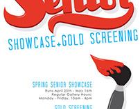 Senior Showcase Poster