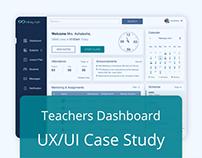 Teacher Online Class Dashboard - UX/UI Case Study