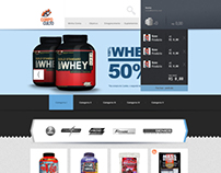 E-commerce - Body Supplements