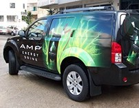 AMP Energy Drink launch