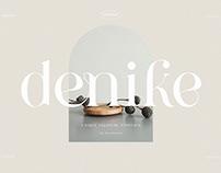 Denike - Stylish Modern Display Font