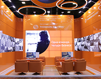 THOMSON REUTERS stand, for Interform Design Spb