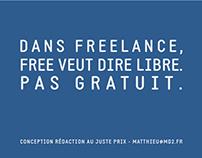 Je suis free