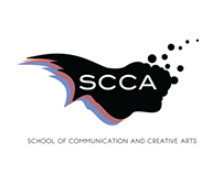 Logo: SCCA (School of Communication and Creative Arts
