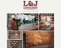 Lenny & Jenny Designs Logo and Website