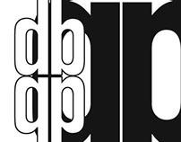 DIN Typeface Studies