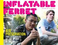 Inflatable Ferret Magazine Redesign
