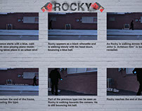Rock Title Sequence Storyboard