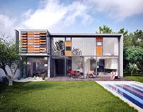 AUM Architectes / Maison Seven