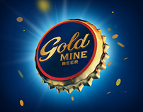 Принт и доп. материалы / Gold Mine Beer