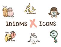 Idioms X Icons
