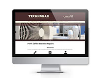 Technobar Website Design