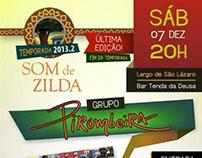 Poster / Som de Zilda