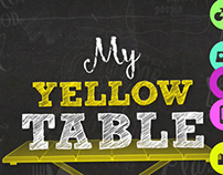 My Yellow Table