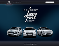 Peugeot Love Test - Peugeot LATAM