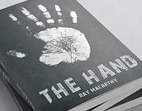 Book Cover and digital Art ( THE HAND)