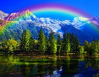 Rainbow Maker Photoshop Action