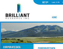 Web / Brilliant Resource Inc.