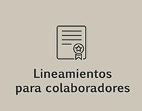 Lineamientos para colaboradores