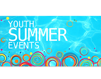 Youth Summer Web Graphics