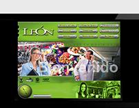 León City Interactive Touchscreen module