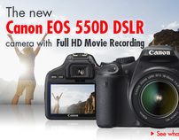 Canon Eos 550D DSLR