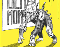 Sonic Death Monkey gig poster