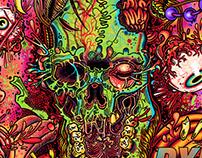 DXM album cover. Depersonalization Syndrome