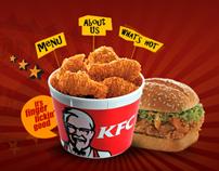 KFC India Website