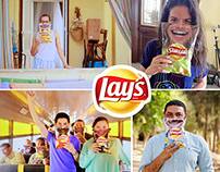 Smiles from  Lays chips