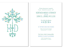 Heather & Daniel's Wedding Invitations