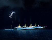 Death of Titanic Matte Painting