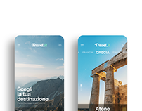 Travels app UI