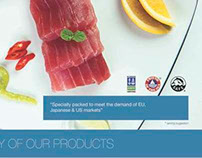 Flyer Design for Maldivie Marine Products