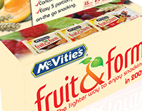 McVitie's Fruit & Form launch