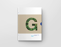 GAP sustainability report (academic project)