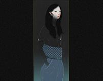 Illustration: 'Shirt and shorts' Fashion